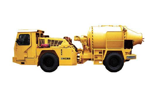 MJC4矿用混凝土搅拌运输车