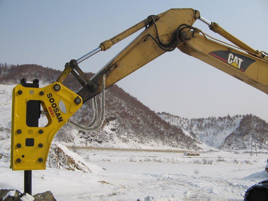 韩国SOOSAN水山SB81液压破碎锤