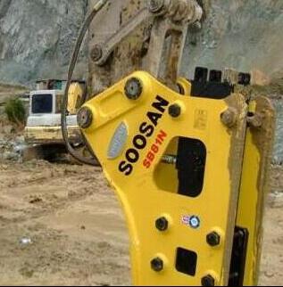 韩国水山(SOOSAN)破碎锤SB81N