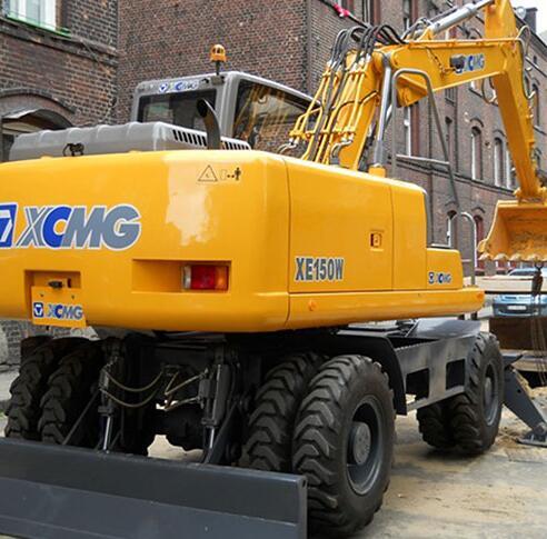 亿博网址开户XE150W轮式挖掘机