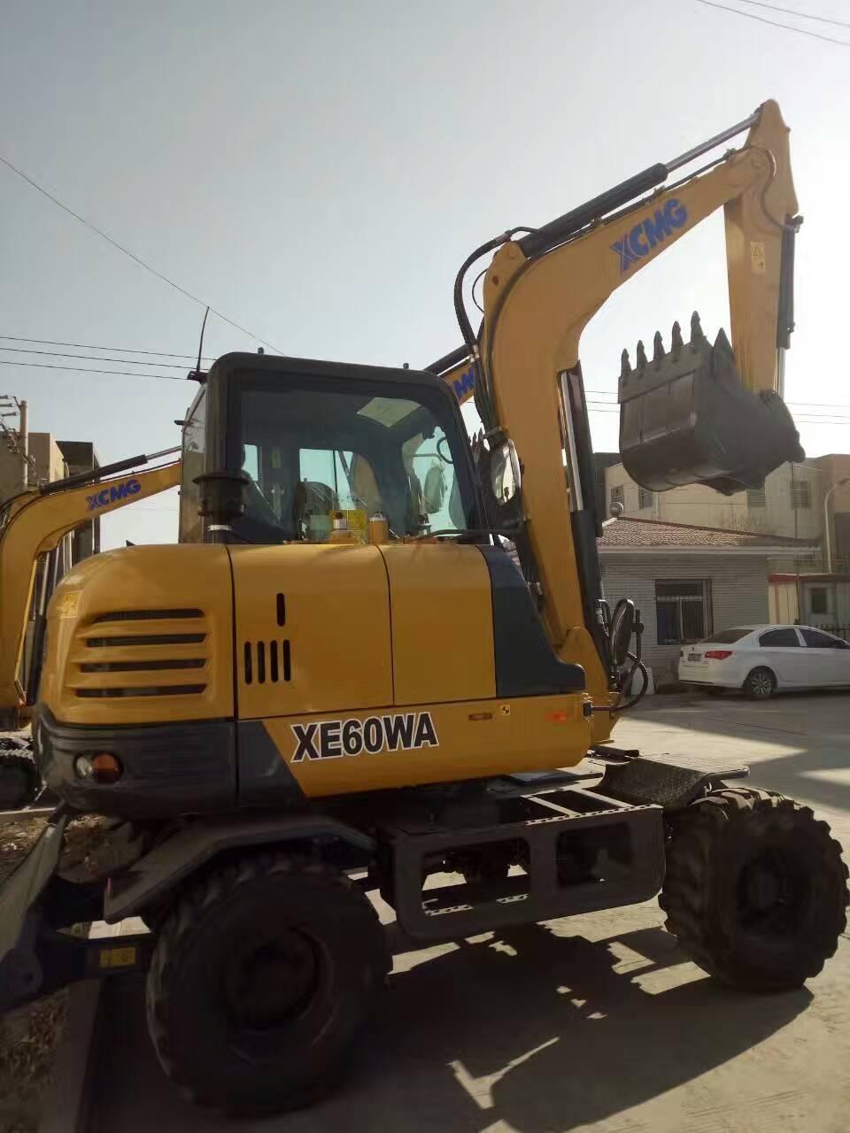 亿博网址开户6吨轮式挖掘机 XE60WA